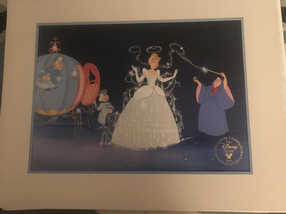 1995 Exclusive Commemorative Cinderella Lithograph