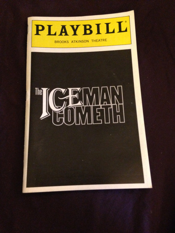 The Iceman Cometh Playbill - Broadway Bazaar