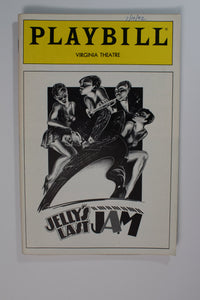 Jelly Jazz Jam Playbill