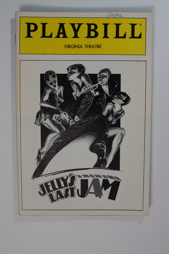 Jelly Jazz Jam Playbill - Broadway Bazaar