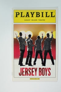 Jersey Boys Playbill - Broadway Bazaar