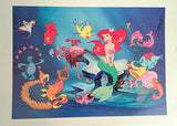 Disney Animation Feature Film Memorial Lithograph Prints - Broadway Bazaar