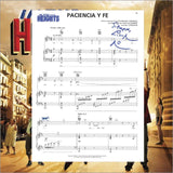 In The Heights Sheet Music SIGNED! - Broadway Bazaar