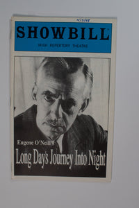 Long Days Journey Into Night Showbill - Broadway Bazaar