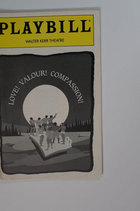 Love! Valour! Compassion! Playbill - Broadway Bazaar