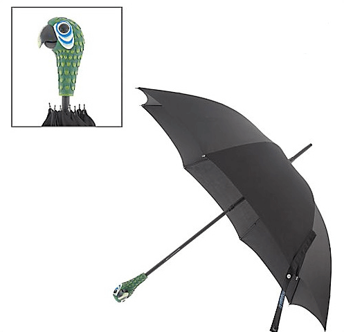 Mary Poppins Parrot Head Umbrella - Broadway Bazaar
