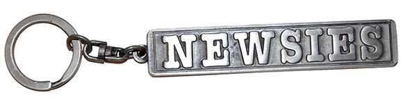 Newsies Musical Logo Keychain - Broadway Bazaar