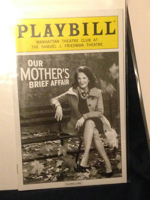 OUR MOTHERS BRIEF AFFAIR Playbill - Broadway Bazaar