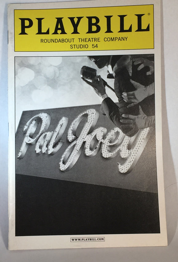 PAL JOEY Playbill - Broadway Bazaar