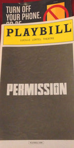Permission Playbill - Broadway Bazaar