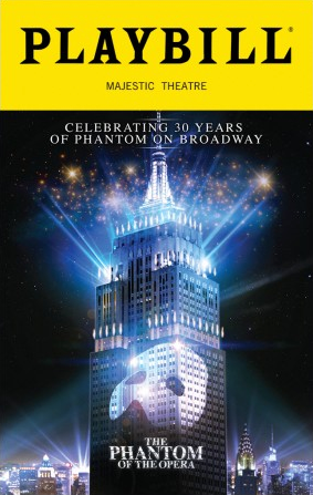 Phantom Of The Opera 30th Anniversary Special Edition Playbill