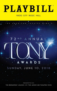 Tony Award Playbill