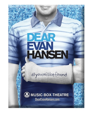 Dear Evan Hansen The Musical - Logo Magnet