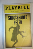 SHOCKHEADED PETER Playbill - Broadway Bazaar