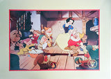 Disney Snow White Lithograph Print