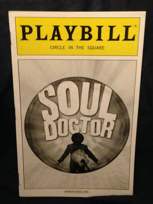 Soul Doctor Playbill