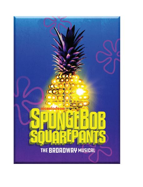 Spongebob Squarepants The Musical Magnet - Broadway Bazaar
