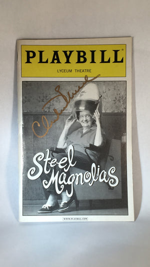 STEEL MAGNOLIAS Signed Playbill - Broadway Bazaar