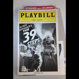 THE 39 STEPS Playbill - Broadway Bazaar