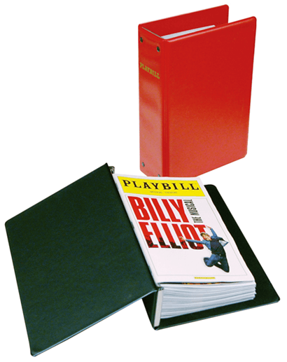 Standard Playbill Binder