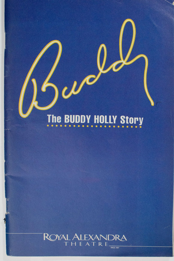 Buddy The Buddy Holly Story Program - Broadway Bazaar