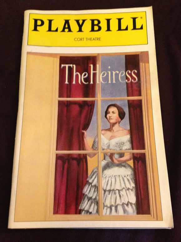 The Heiress Playbill - Broadway Bazaar
