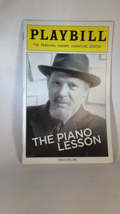 THE PIANO LESSON Playbill - Broadway Bazaar