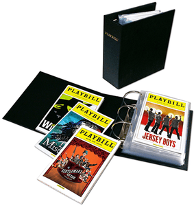 Ultimate Broadway Playbill Binder