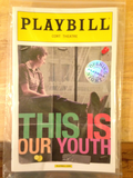 This Is Our Youth Opening Night Playbill - Broadway Bazaar
