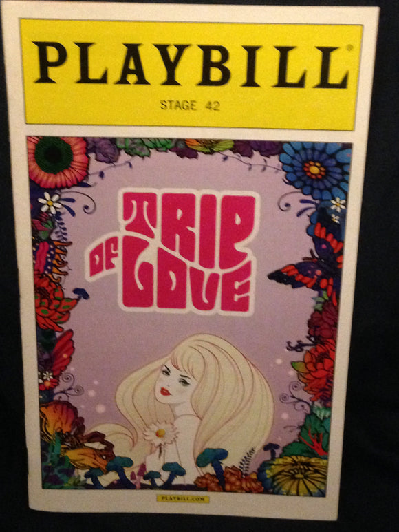 Trip Of Love Playbill - Broadway Bazaar