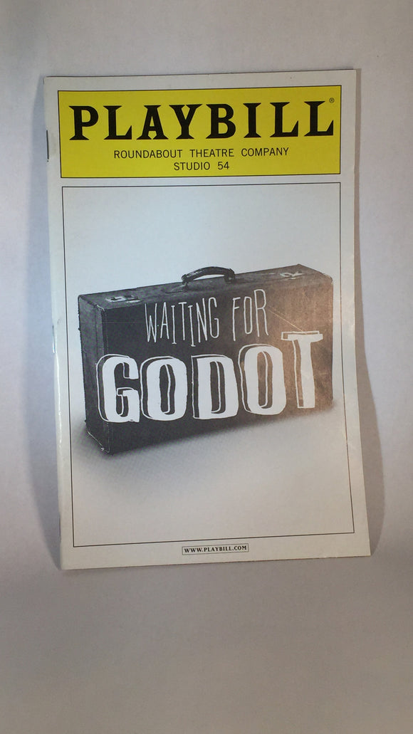 WAITING FOR GODOT Playbill - Broadway Bazaar