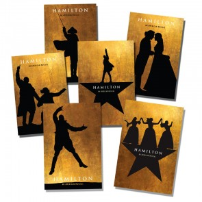 Hamilton The Musical Postcard Collection - Broadway Bazaar