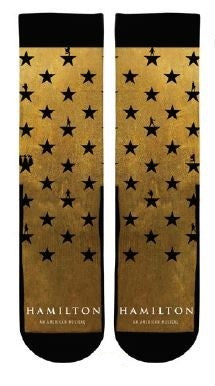 Hamilton The Musical Star socks - Broadway Bazaar