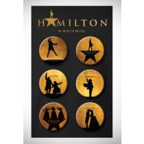 HAMILTON The Musical Button Collection - Broadway Bazaar