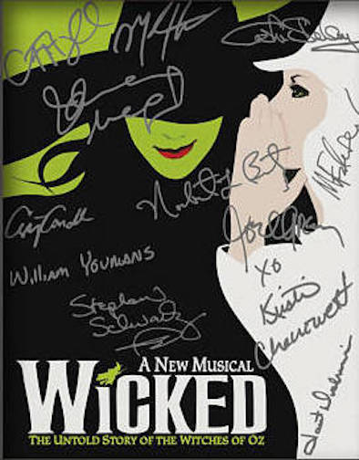 Wicked Signed Reprint Photo - Broadway Bazaar