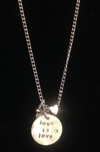 Love Is Love Charm Necklace