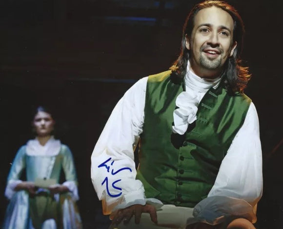 HAMILTON's Lin Manuel Miranda Photo - Signed - Broadway Bazaar