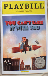 YOU CANT TAKE IT WITH YOU Opening Night Playbill - Broadway Bazaar