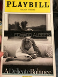 A Delicate Balance Playbill
