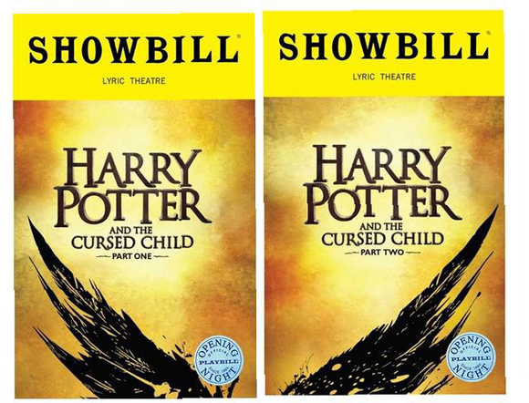 Harry Potter and the Cursed Child Opening Night Showbillz