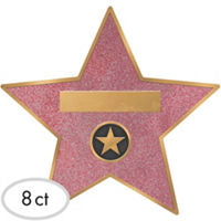 Broadway Decor Vinyl Star Stickers