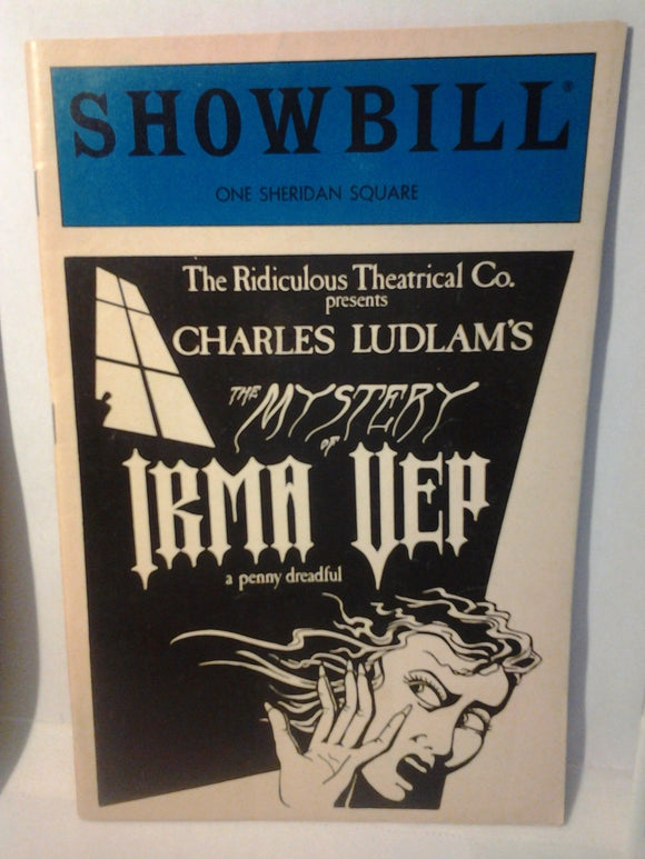 THE MYSTERY OF IRMA VEP Showbill - Broadway Bazaar