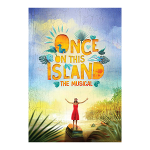 Once On This Island Souvenir Program