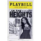 In The Heights National Tour Playbill Signed by Lin Manuel Miranda - Broadway Bazaar