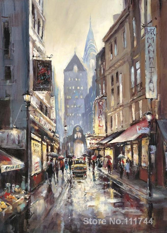 Off Broadway Brent Heighton Paintings
