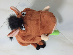 The Lion King Broadway Pumbaa Plush Bean Bag Plush Toys 30cm