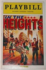 In The Heights Playbill