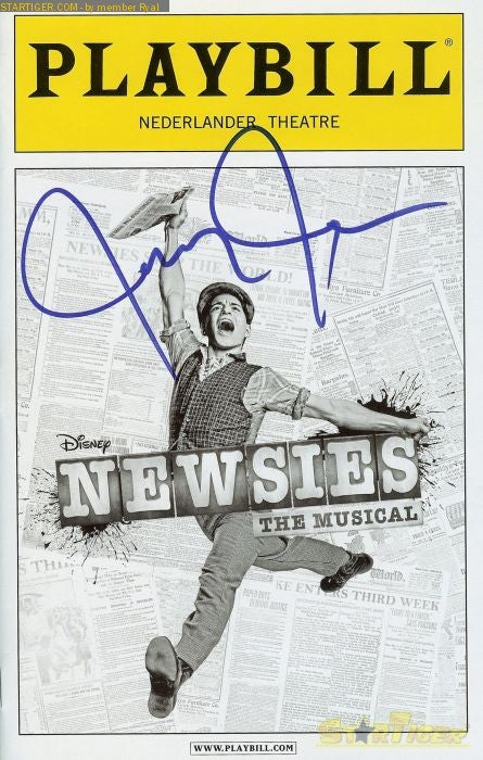 Disney S Newsies Playbill Photo