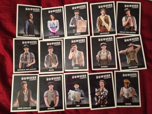 Newsies Trading Cards