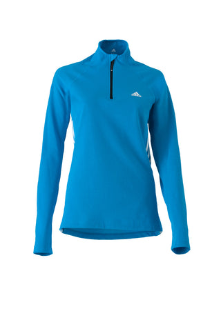 Poloshirt 1/2 Zip Long Sleeve Women